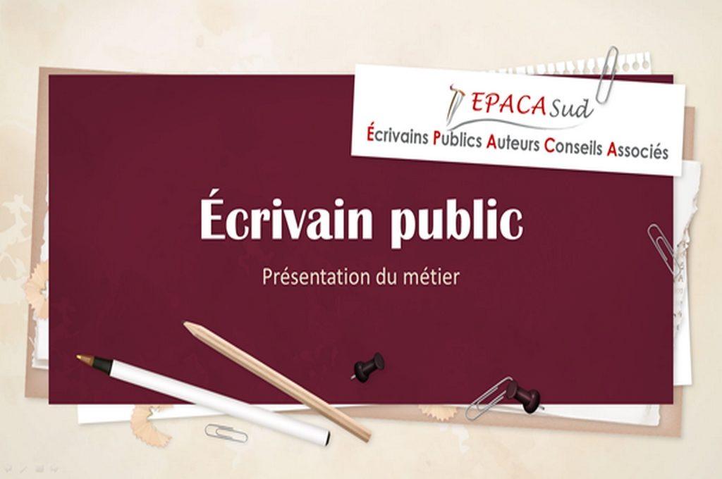 Diaporama : le métier d'écrivain public